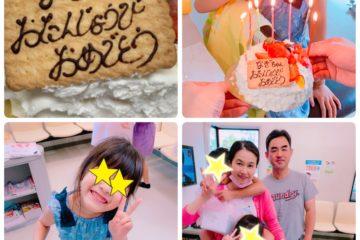 お誕生日は焼肉洪苑さん&セゾンさんのケーキ♡