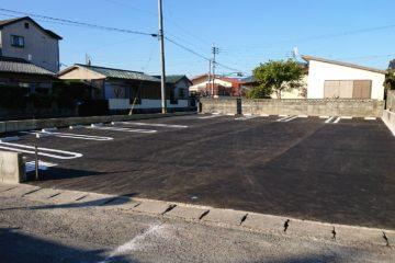 タカノ歯科の隣に駐車場完成!
